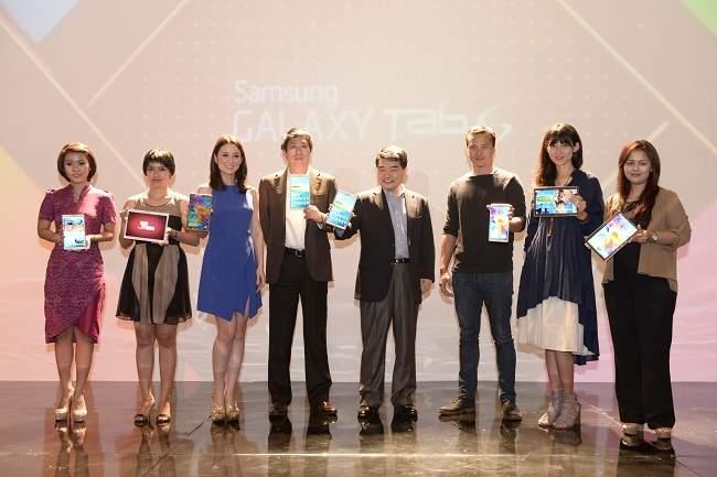 Samsung Luncurkan Galaxy Tab S di Indonesia