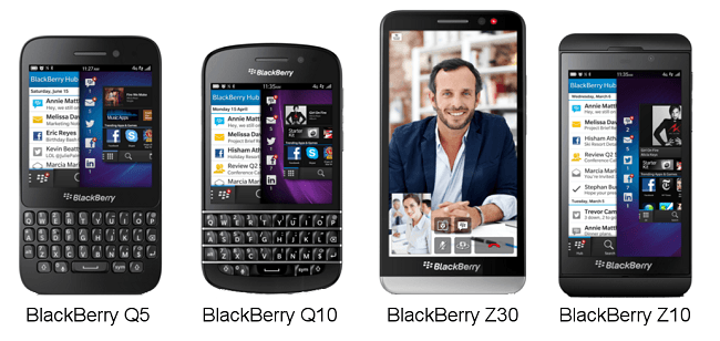 BlackBery Q5, Q10, Z30 Raih Penghargaan Red Dot Award