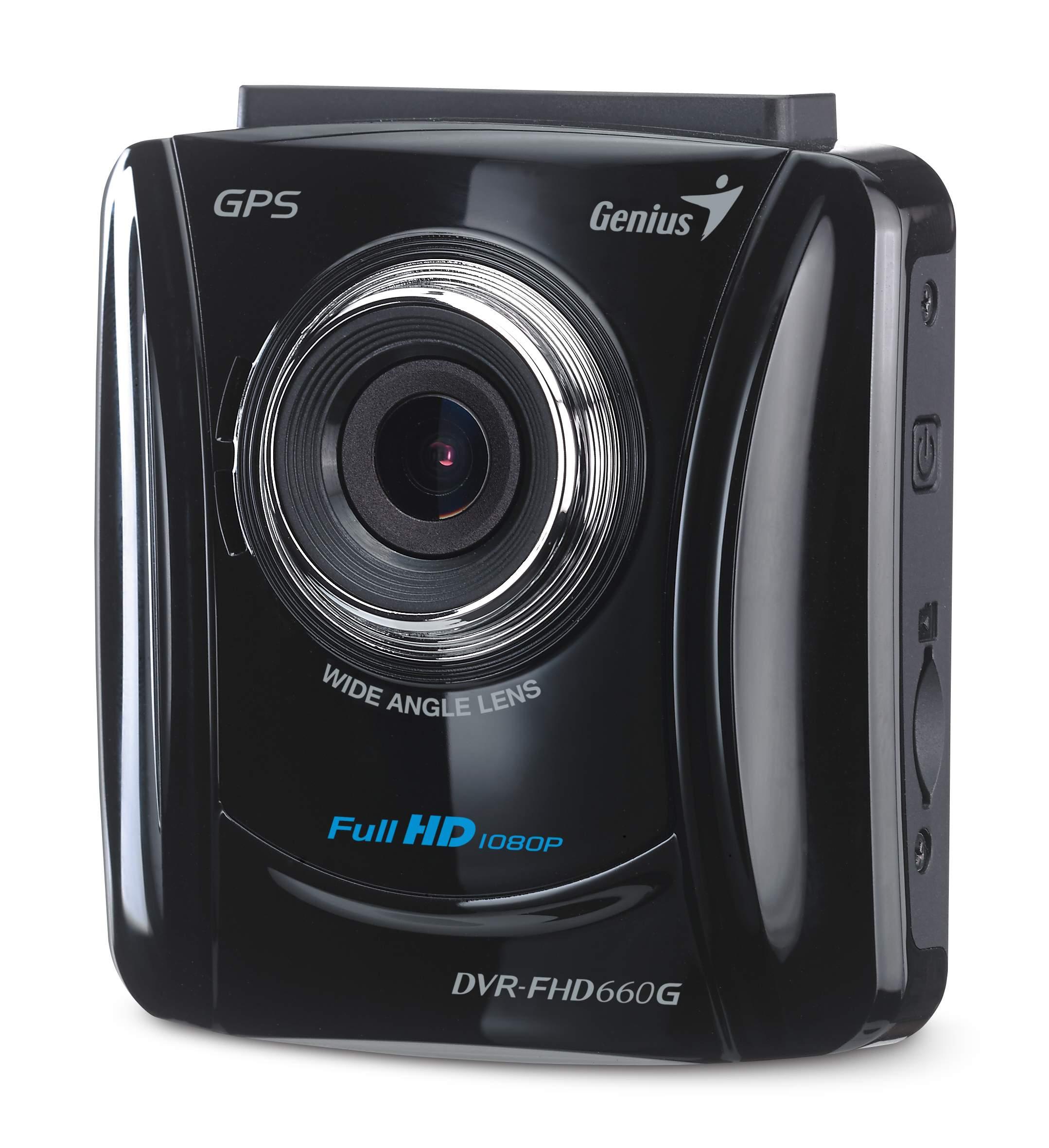 Genius DVR-FHD660G Perekam Kendaraan Dengan Fitur GPS Harga 1 Jutaan