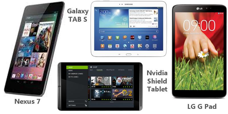 Lima Tablet Terbaik untuk Bermain Games