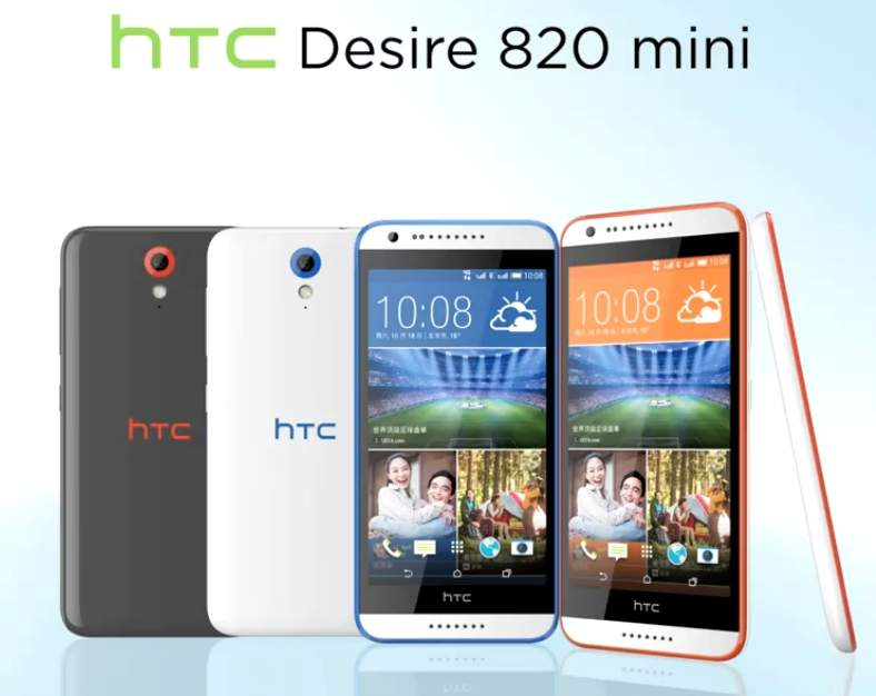HTC Tawarkan Versi Mini HTC Desire 820