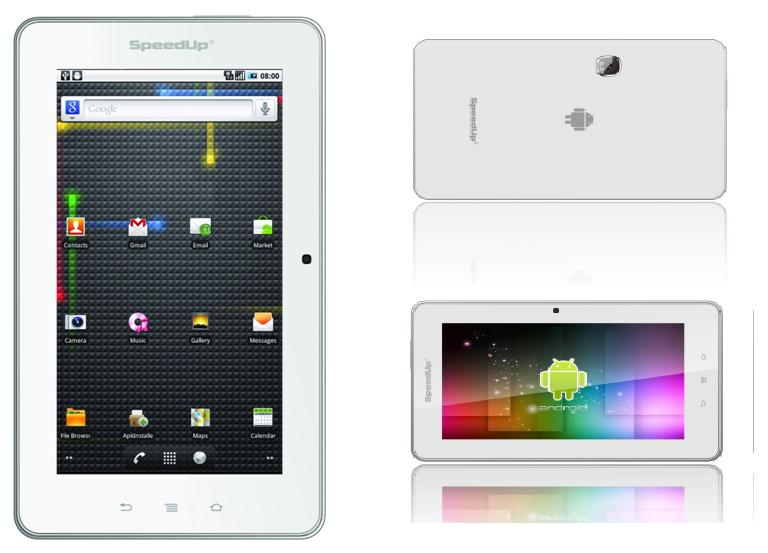 Berkolaborisi  dengan Intel dan Microsoft SpeedUp Siapkan Tiga Tablet