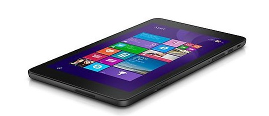 Dell Venue 8 Pro 3000, Tablet Windows 2-Jutaan Berlayar HD