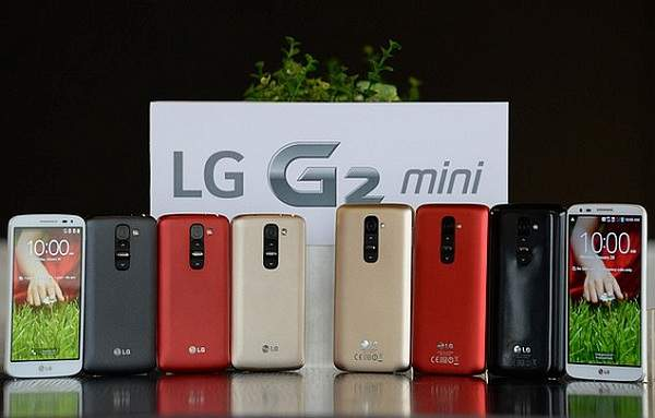 LG G2 Mini,Tubuh Mungil Kinerja Nyentil