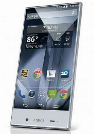 Sharp Aquos Crystal, Ponsel Cantik Dengan Koneksi LTE