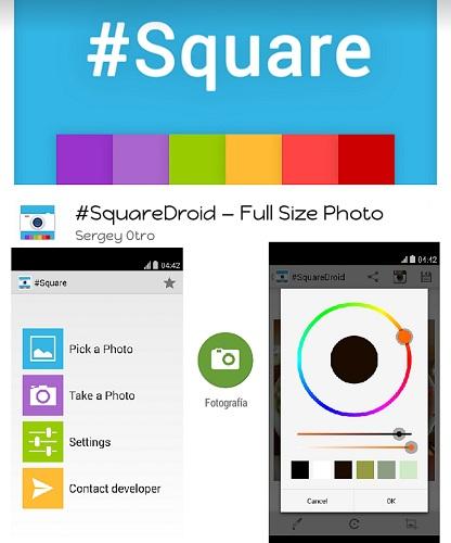 Aplikasi SquareDroid Menampilkan DP BBM Secara Utuh Tanpa Crop