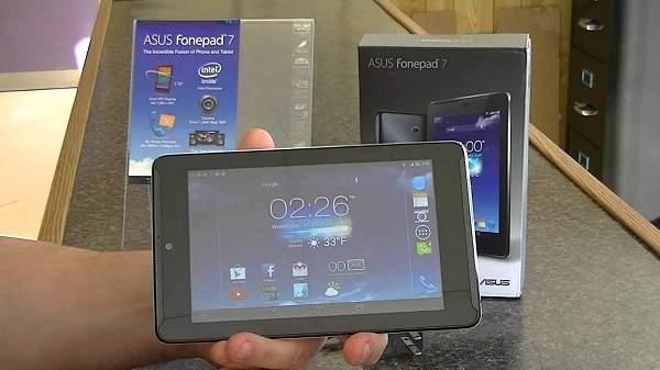 Asus Fonepad 7 Terbaru Kini Dengan Prosesor 64 Bit
