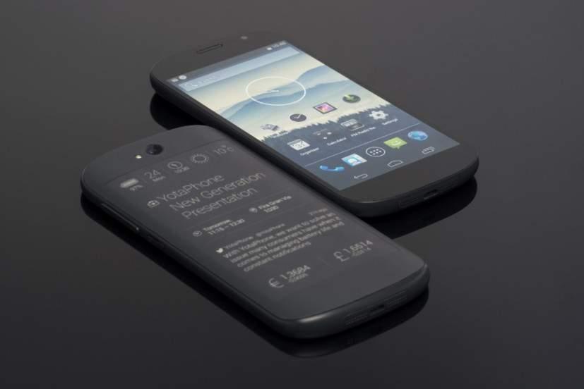YotaPhone 2, Smartphone Modern Dengan Dua Muka