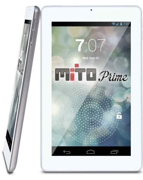 Mito Prime, Tablet 7 Inci dengan RAM 1 GB