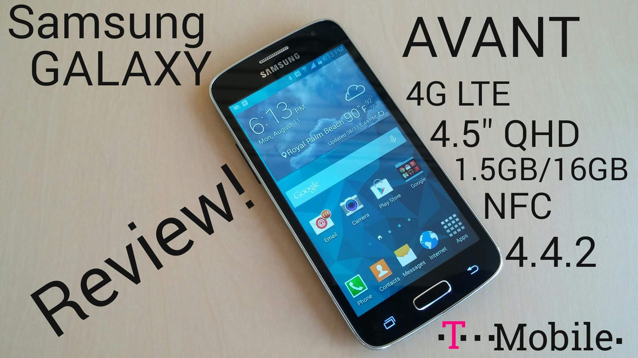Galaxy Avant, Quad Core Mirip Galaxy S5