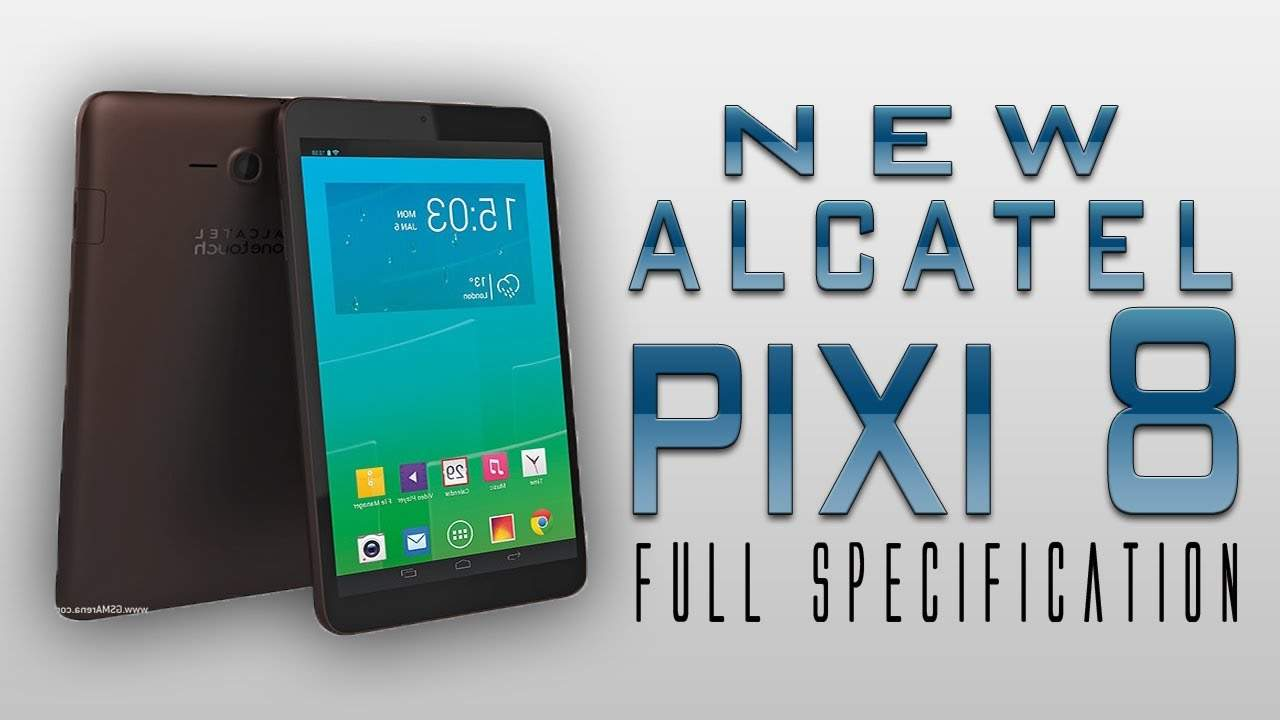 Tablet Alcatel Pixi 8, Bersenjata Triple Core,  Merambah Indonesia