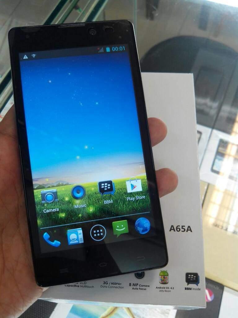 Evercoss A65A, Smartphone Quad core Harga Sejutaan