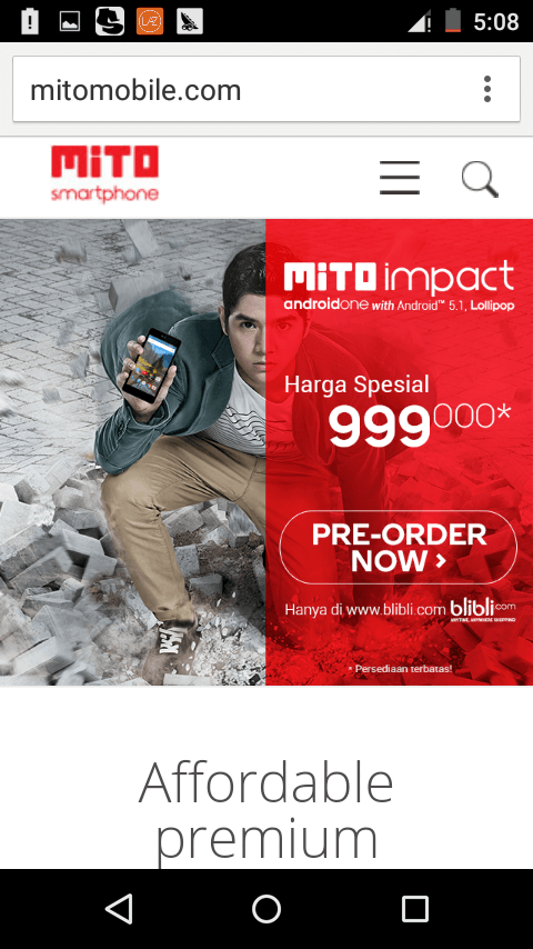 Mito Impact A10 Pricebook