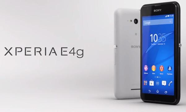 Sony Luncurkan Xperia E4 Versi 4G LTE