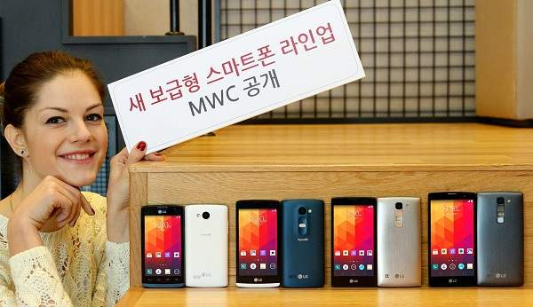 Empat Smartphone Menengah LG Siap Berlaga di MWC 2015