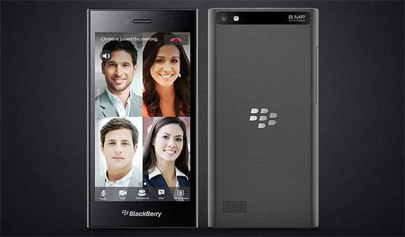 BlackBerry Leap dengan Layar 5 Inci Hadir di MWC 2015