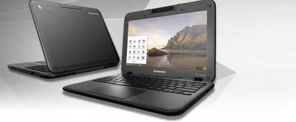 Lenovo N21 Chromebook dengan Prosesor Bay Trail