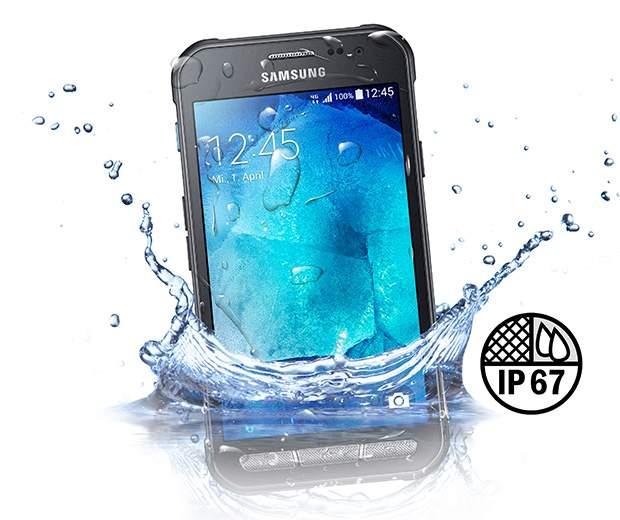 Samsung Galaxy Xcover 3, Tahan Tenggelam Selama 30 menit