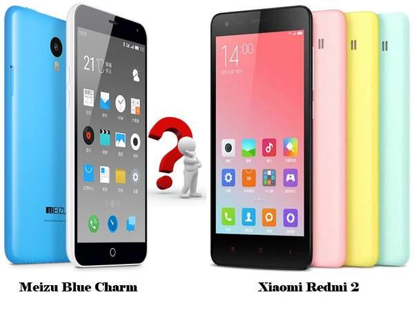 Adu Spesifikasi: Meizu Blue Charm (M1) vs Xiaomi Redmi 2