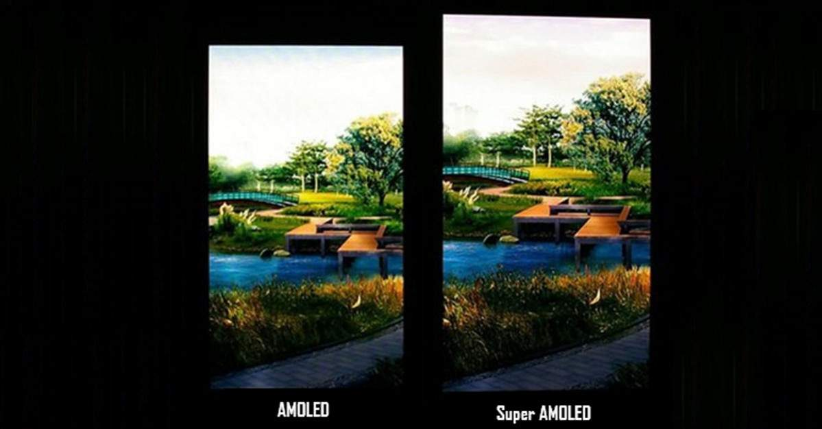 amoled vs super amoled