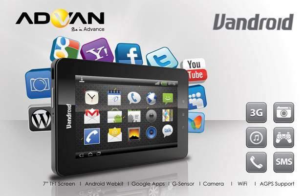 Harga Tablet Advan Mei 2015: Berprosesor Quad Core dan Baterai Tahan Lama