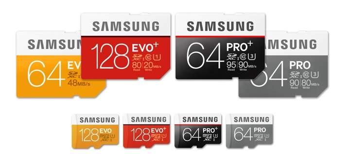 Kartu Memori Samsung Pro Plus dan EVO Plus, Rekam Video 4K, Tahan Air dan Goncangan