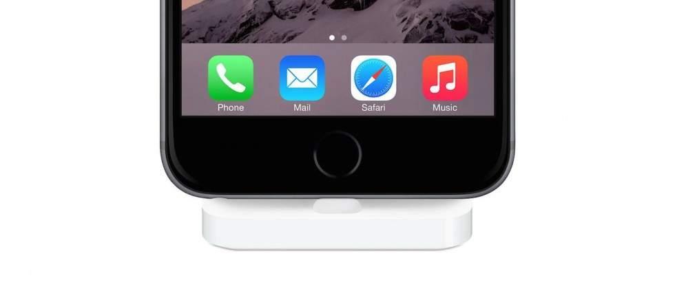 Harga Dock Charging Lighting Buat iPhone di Indonesia Rp 640.000