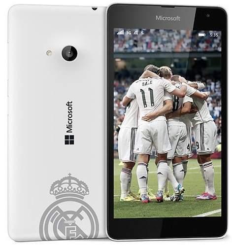 Microsoft Luncurkan Lumia 430 Dual SIM Edisi Real Madrid