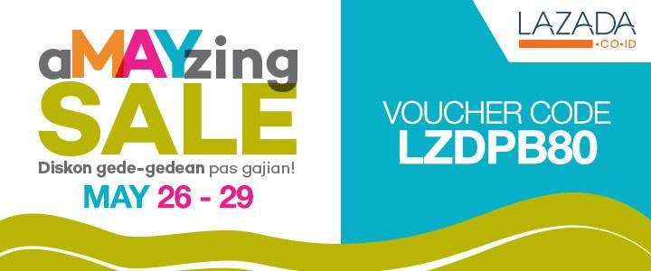 "Lazada Gelar Program Promo ""aMAYzing Sale"" Hingga 29 Mei 2015"