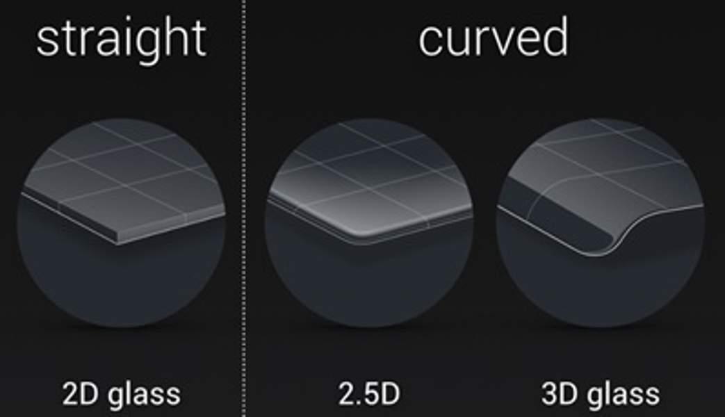 Mengenal 2.5D Screen Glass pada Handphone Canggih Saat Ini