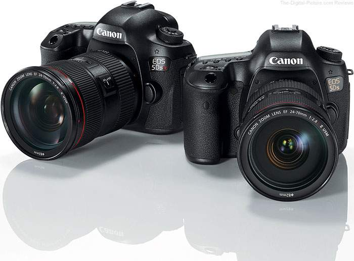 Harga Kamera Canon EOS 5DS dan EOS 5DSR dengan 50MP Juni 2015
