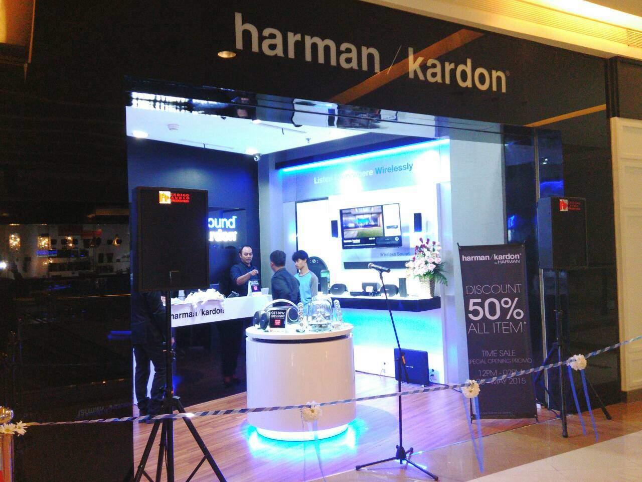 Harman Kardon Resmikan Konsep Store di Jakarta