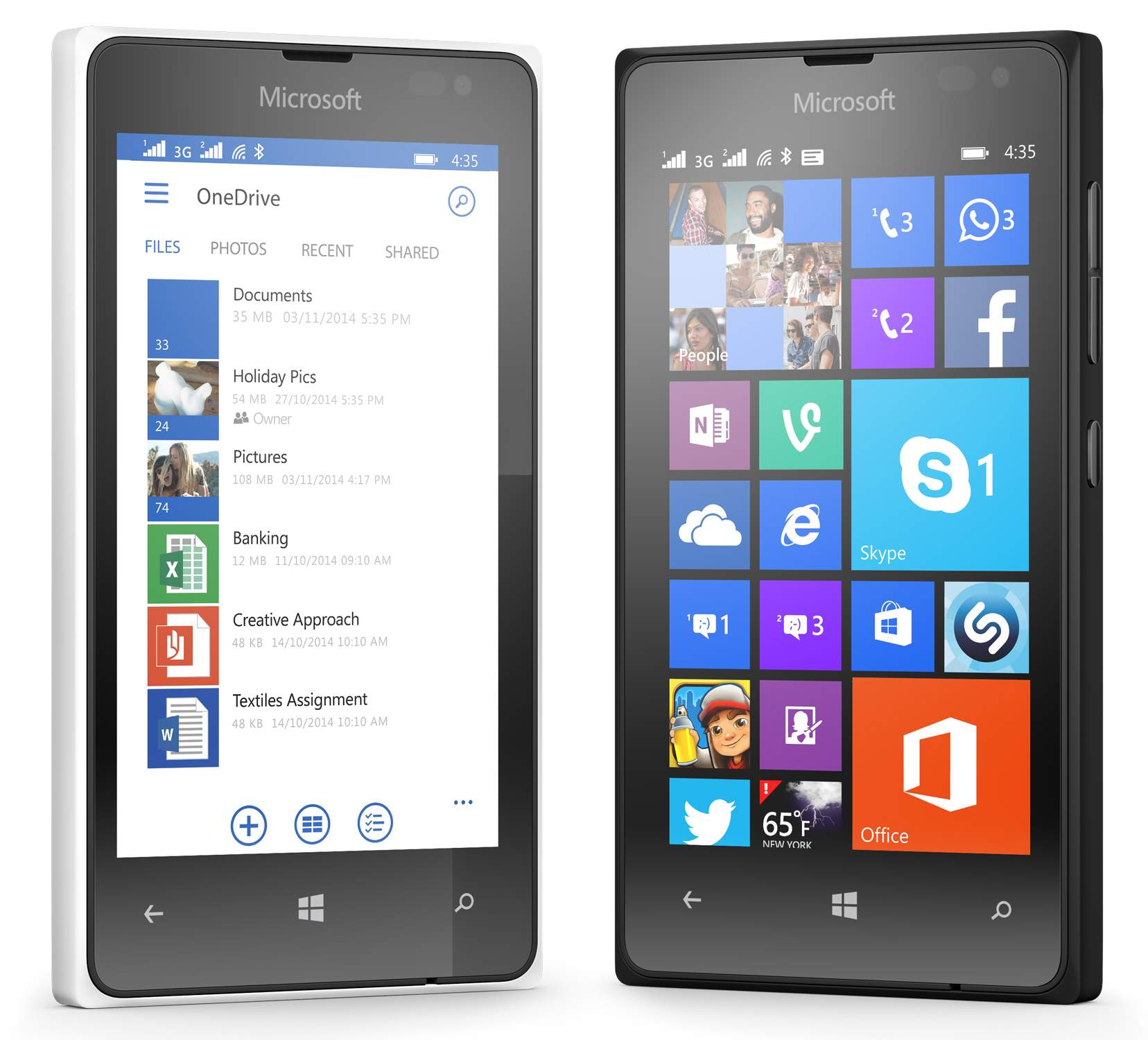 Galau PilihMicrosoft Lumia 435 atau Lumia 532? Cek Perbandingannya di Sini!