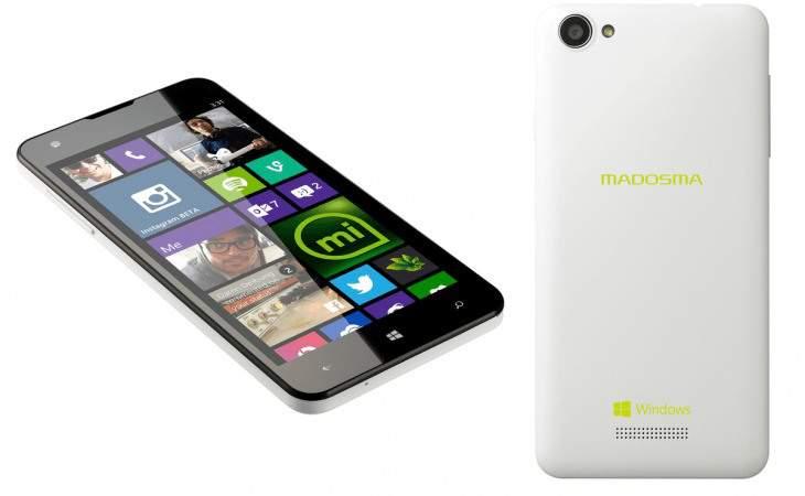 Madosma Siapkan Smartphone dengan Windows 10
