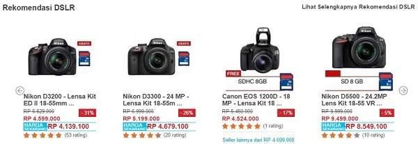 Harga Kamera Dslr Nikon Dan Canon Murah Di Promo Ramadan Ceria