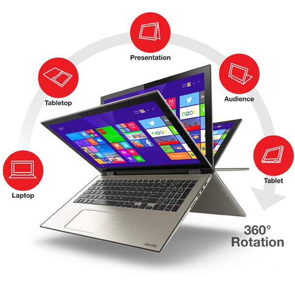 Toshiba siap merilis Laptop Radius 15 Dengan Layar 4K