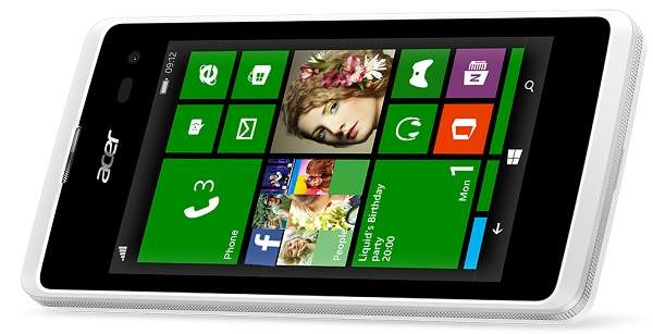Acer Liquid M220, Meluncur ke Indonesia dengan OS Windows Phone