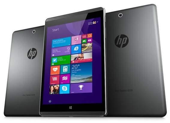 HP merilis Tablet Bisnis Terbaru, HP Pro Tablet 608