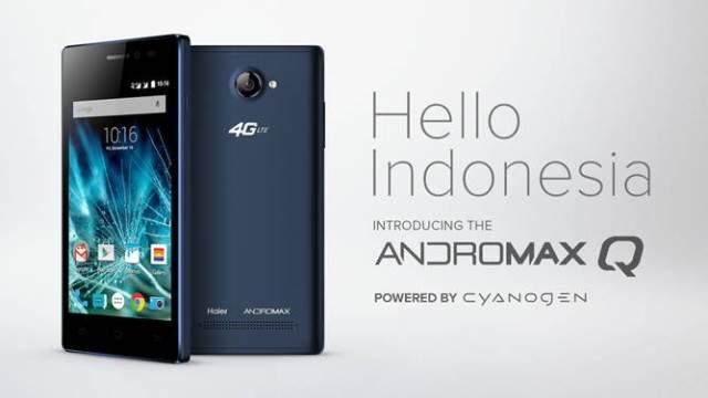 Andromax Q, Smartphone Dengan Snapdragon 410 dan 4G Terbaru