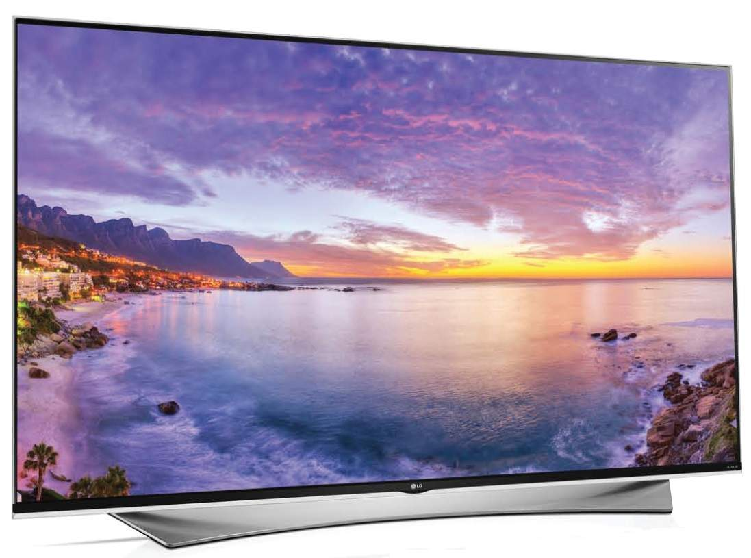 "UF950T Super UHD 65"", TV LED Premium dari LG"