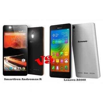 Ponsel 4G LTE Murah, Pilih Andromax R atau Lenovo A6000?