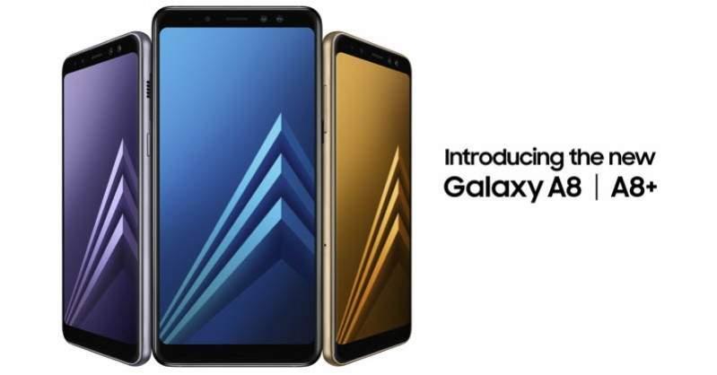 Samsung Galaxy A8 dan A8+