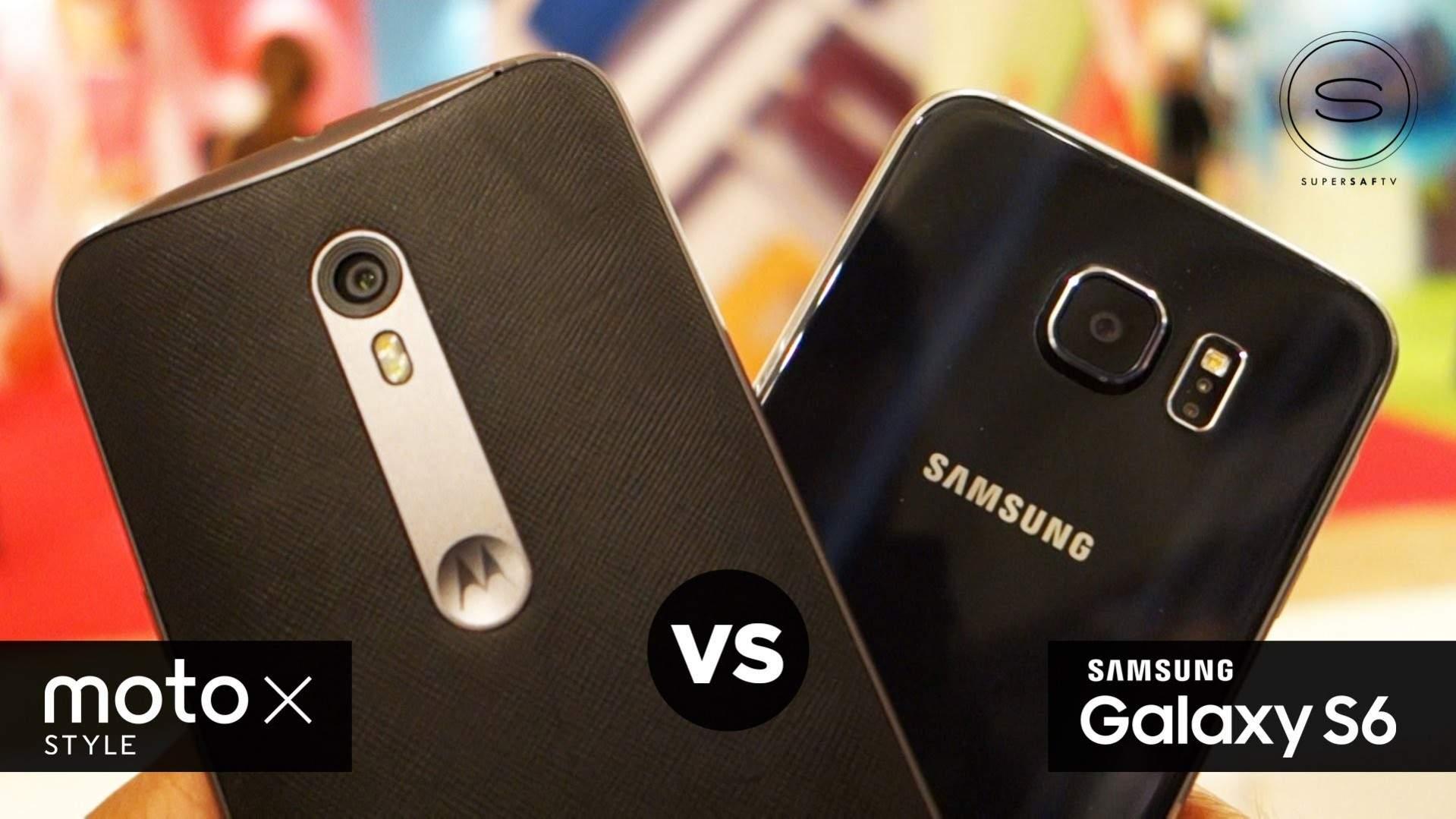 Motorola Moto X Style Vs Samsung Galaxy S6 Duel Ponsel