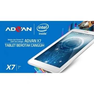 Advan Vandroid X7 Istimewa Berkat Intel SoFIA