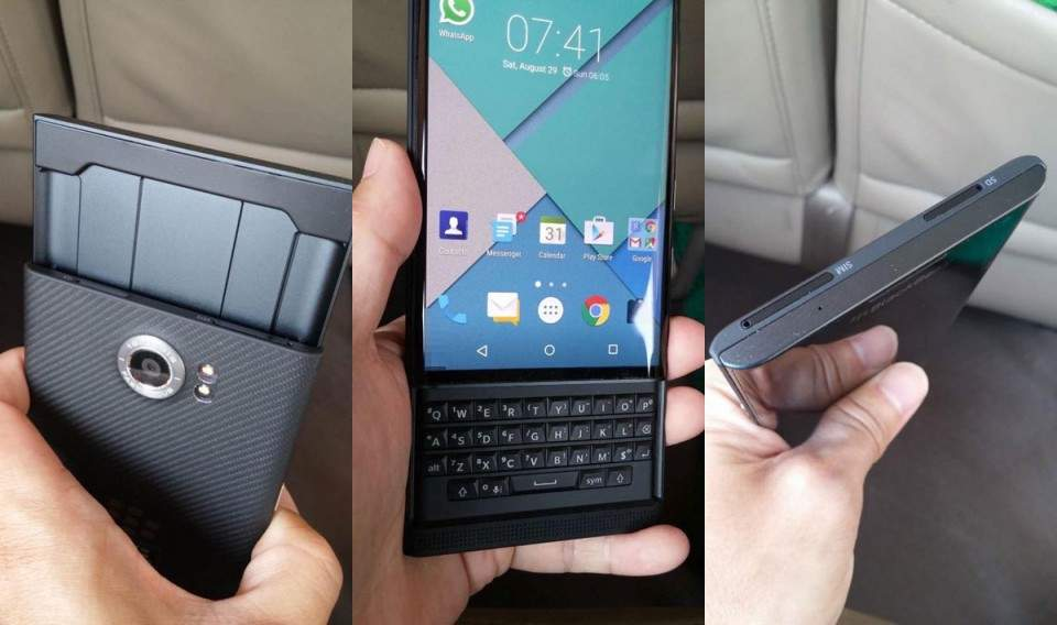BlackBerry Priv, Smartphone Android dengan Kamera 18MP