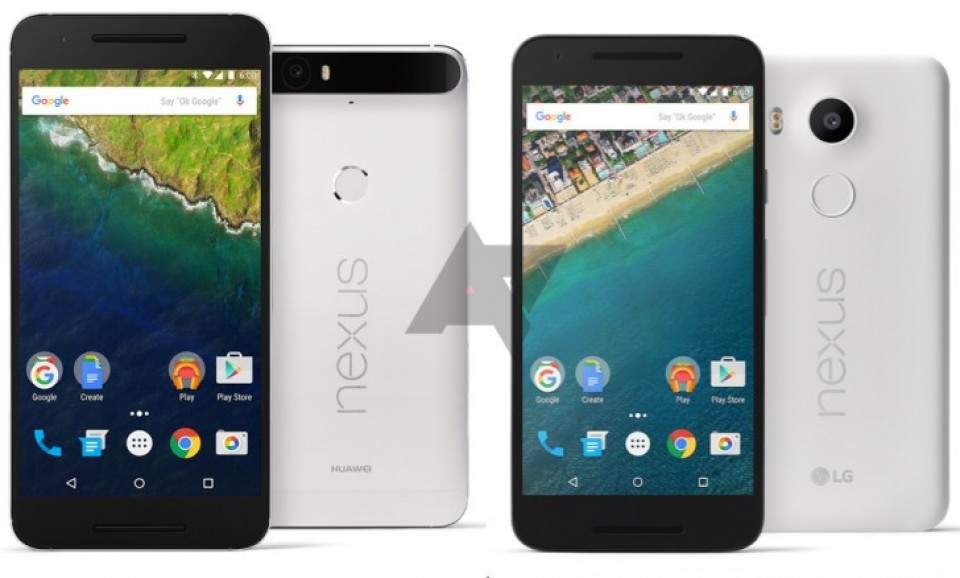 Nexus 5x dan Nexus 6p Hadir Tanpa Slot MicroSD