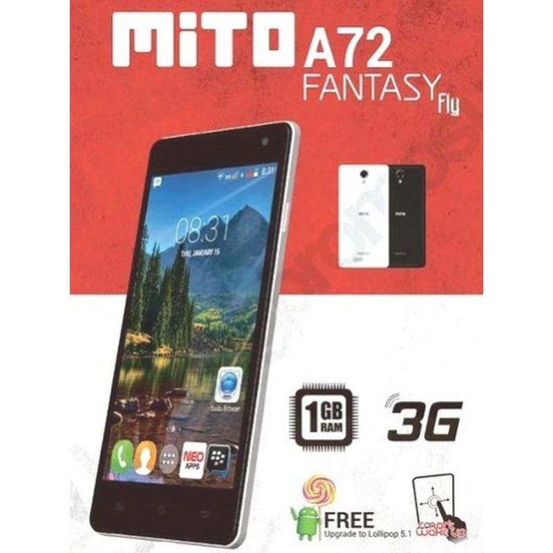 Mito Fantasy Fly A72, Ponsel Android Lollipop 5.1 Harga Rp ...