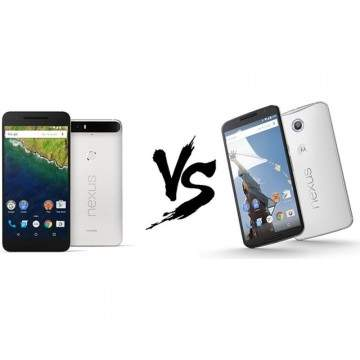 Perbandingan Spesifikasi Nexus 6P dan Nexus 6