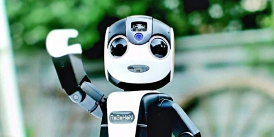 RoBoHon, Smartphone Robot Android Pintar Nan Lucu
