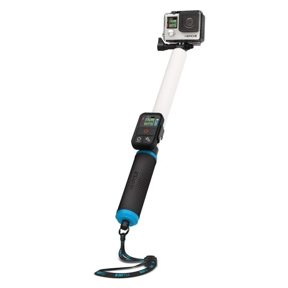 10 Aksesoris Kamera Gopro Terbaik 2015 Lengkap Dengan Harganya Tongsis Wireless Smartphone Sangat Populer Untuk Selfie Begitu Pula Aksesories Yang Bernama Resmi Gopole Reach Ini Berbentuk Teleskopis Bisa